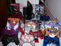 PS2 Slim Console Custom Controller & Game Bundle Complete Ready To Play