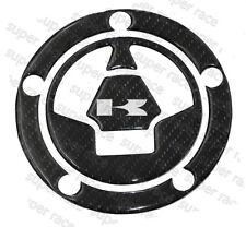 3D Carbon Fiber Gas Cap Tank Cover Pad Sticker For Kawasaki ZX10R 06-15 Nice
