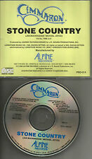 CIMMARON Stone Country 1993 USA PROMO Radio DJ CD single MINT PRO 014