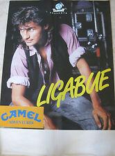 LIGABUE Poster Manifesto originale 1991 100 x 70 cm Target