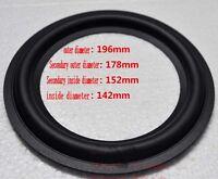"""2pcs 8""""inch 178C Speaker rubber edge woofer Speaker Surround repair parts"""