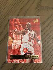 1995-96 Fleer Ultra Double Trouble #3 Michael Jordan 1995 Chicago Bulls HOF