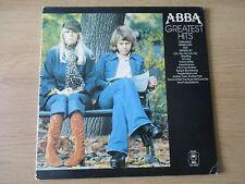 ABBA – Greatest Hits   Vinyl LP Compilation Yellow UK1976 Pop Disco S EPC 69218