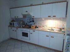 Einbauküche,Küchenzeile  mit Ceranfeld,Backofen und Kühl-Gefrierkombi