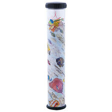"""Kaleidoscope With Removable Top Tropical Fish Design 9"""" Long New!"""