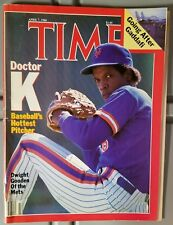 Time - April 7, 1986 Back Issue Magazine Doc Dwight Gooden