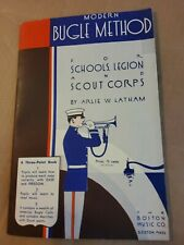 Modern Bugle Method 1933. New Old Stock. Music Store Liquidation.