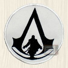 Assassin's Creed Circle Logo Embroidered Patch PS3 Brotherhood Ezio Auditore