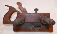 Antique Wood Molding Plow Plane Ohio Tool Co. 101 Blade Signed T H Wetherby