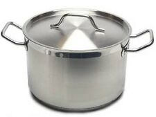 New Professional Commercial Grade 8 QT (Quart) Heavy-Gauge Stainless Steel Stock