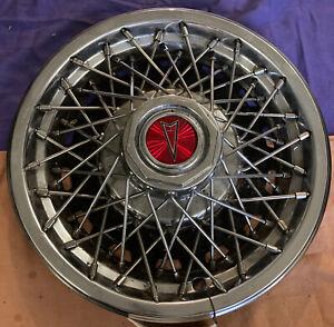 "Pontiac Phoenix Sunbird Astre 1977 1978 1979 1980 13"" Wheel Cover Wire Hubcap OE"
