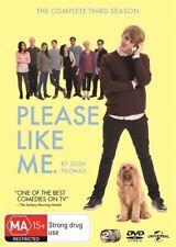- PLEASE LIKE ME SERIES 3 [DVD] JOSH THOMAS [REGION 4] BRAND NEW [NOW $18.25]