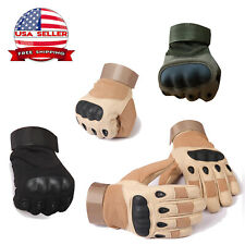 Carbon Fiber Safety Work Gloves Men Construction Hunting Military Heavy Duty