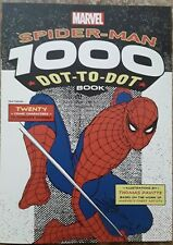 Marvel Spiderman 1000 Dot-to-Dot Book