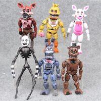 Five Night at Freddy's action figure toy models Fnaf Bonnie Bear Foxy Freddy