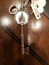 Walt Disney World Silver KEY to The Kingdom Christmas ornament