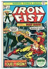 Iron Fist #1 Featuring Iron Man, Fine Condition*