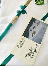 New listing Fingal Irish Tablecloth Celtic Linen Damask Cream White 54' x 54' Nos