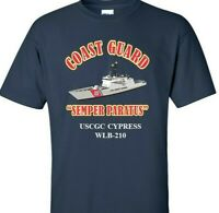 USCGC CYPRESS  WLB-210 *COAST GUARD  VINYL PRINT SHIRT/SWEAT