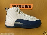 Nike Air Jordan XII Retro 12 French Blue White Metallic Silver Red 130690-113