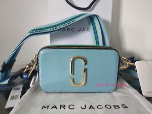 NWT Genuine Marc Jacobs Snapshot  Small Camera Bag Crossbody misty blue offer