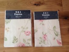 Cotton Blend Country Tape Top Curtains & Pelmets