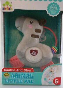 Tier Musikrassel mit Licht und Sound Baby Rassel Greifspielzeug Spielzeug