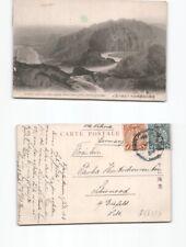 (b96780)   Ansichtskarte Shanhaikwan 1913  mit  1 und 3 cent chinesischer F
