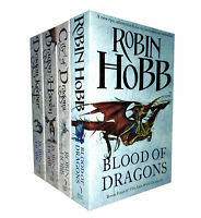 Rain Wild Chronicles Trilogy Collection By Robin Hobb 4 Books Set Dragon Haven