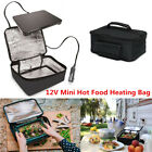 Car Portable 12V Electric Oven Mini Hot Food Tote Heating Bag Fit Picnic Camping photo