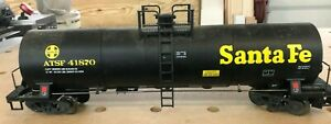 LGB-SANTA FE TANK CAR-NEW-NO BOX BUT NEVER USED