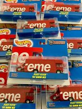 Supreme Hot Wheels Fleet Flyer + 1992 BMW M3 Red - Sealed - never open!