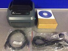 Zebra GK420D Direct Thermal Label Printer - GK42-202520-000 USB/Serial/Parallel