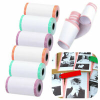 6Rolls Thermal Printer Printing Paper A6 57*30mm For Peripage Paperang P1/P2 Hot