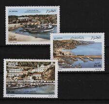 Fishing Ports mnh set of 3 stamps 2009 Algeria 1477-9 Bouharoun, Beni Saf, Stora
