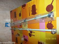 Bastone Scorritenda in ottone inalterabile lunghezza 60cm diametro 10mm CAVAGNA