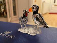 More details for swarovski crystal puffins
