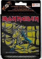Official Merch Woven Sew-on PATCH Metal Rock Eddie IRON MAIDEN Piece of Mind