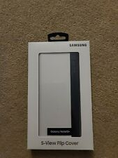 Samsung S-View Flip Cover Case for Samsung Galaxy Note10+ (Plus) - White *NEW*