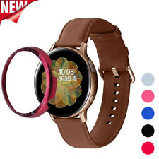 For Samsung Galaxy Watch Active 2 40mm 44mm Metal Bezel Ring Cover Anti Scratch