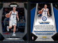 T.J. McCONNELL  2017-18 PANINI PRIZM CARD #5