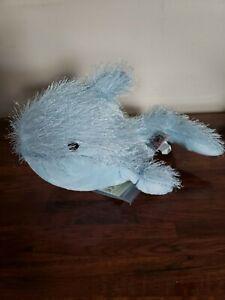 Webkinz Blue Whale Plush Stuffed Animal Childrens Toy GANZ NWT Fish Ocean