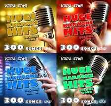 Vocal-Star Karaoke disco HD DVD y CDG Conjunto Completo Ultimate Collection 1200 canciones