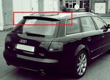 Audi A4 B6 B7 Avant Sline RS look rear spoiler GRP (white or black)