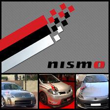 Nismo hood decal kit sticker stripe Universal #2 all nissans headlight decal