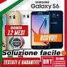 S111_NUOVO! SMARTPHONE SAMSUNG GALAXY S6 SM-G920 32GB ORIGINALE! g920f _GAR.ITA!