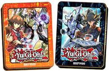YUGIOH Mega Tin 2018 - 1x Jaden e 1x Yusei Tin-tedesco