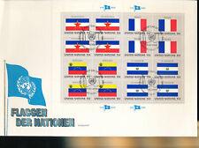 585325 / UNO FLAGGEN FDC