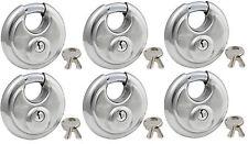 Lock Set by Master 40KA (Lot 6) Keyed Alike Round Weather Resistant Stainless