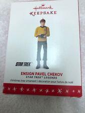 Hallmark Keepsake Ornament Star Trek Legends Ensign Pavel Chekov Limited 2016